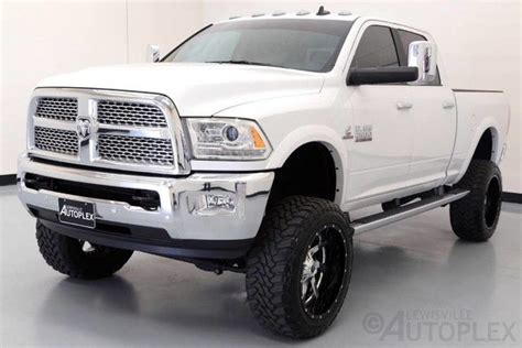 ram  laramie   pro comp lift   fuel wheels navigation luxury vehicle