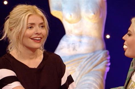 celebrity juice carrot game holly willoughby and lucy fallon tea up in sexy celebrity