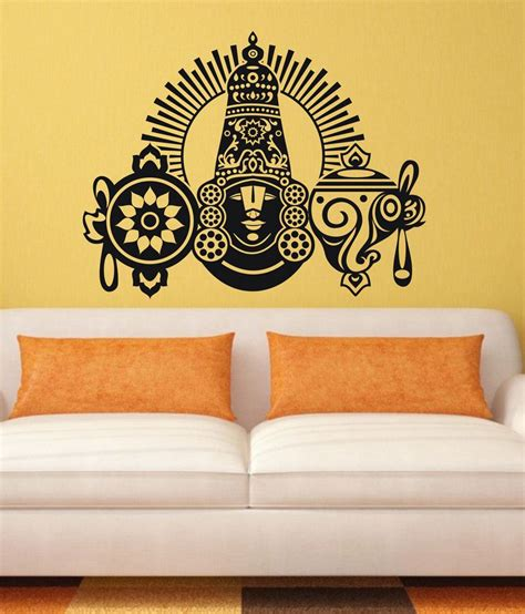 black wall sticker veldeco balaji wall stickers black buy veldeco balaji wall stickers black at best price in