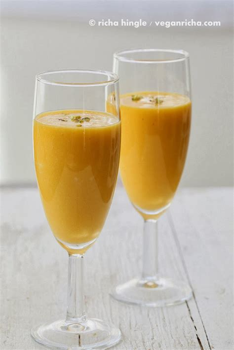Mango Lassi mango lassi and so delicious coupon giveaway vegan glutenfree recipe vegan richa