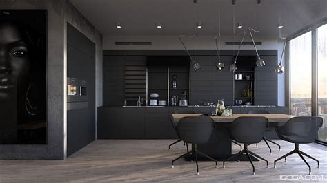 cucine nere cucine nere di design 30 modelli vi conquisteranno