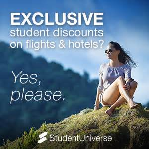 cheap flights for students student service