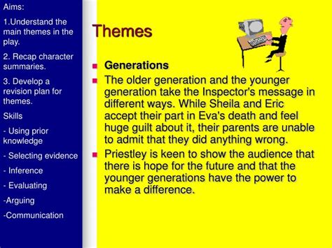 themes in an inspector calls powerpoint ppt an inspector calls powerpoint presentation id 1709929