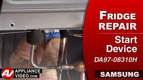 samsung rfksr refrigerator  compressor   run compressor start device