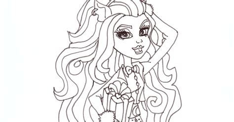 monster high coloring pages sweet 1600 free printable monster high coloring pages clawdeen wolf