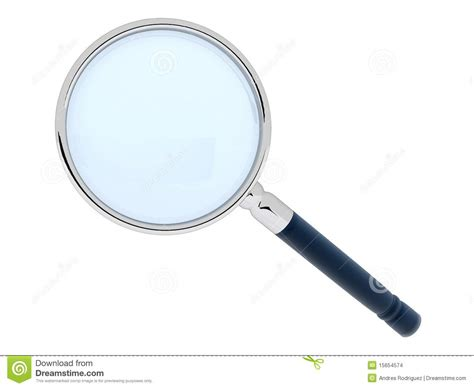 3d Magnifying Glass 3d magnifying glass stock images image 15654574