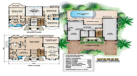 mediterranean house floor plan and design mediterranean house floor plans small luxury mediterranean house plans beachfront home plans