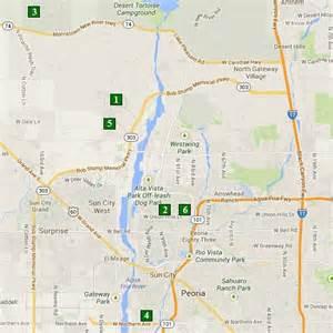 peoria arizona map arizona golf golf courses scottsdale golf