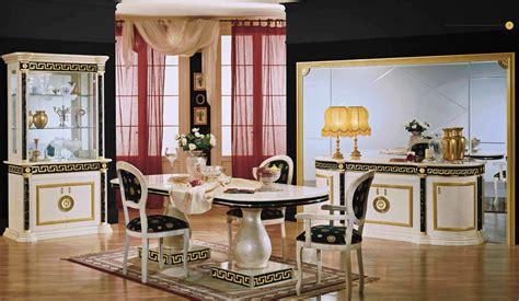 Komplett Luxus Wohnzimmer Set Royale Italia Hochglanz