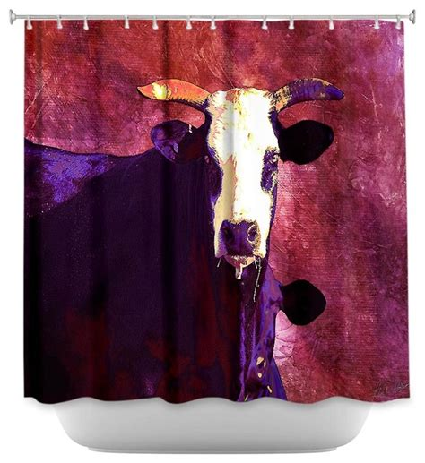 Cow Shower Curtain by Shower Curtain Artistic Holy Cow Shower