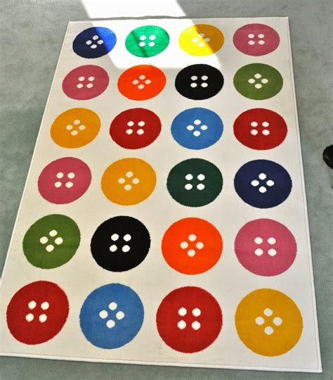 ikea button rug pin by trevino on for the home