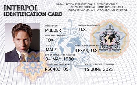 Nsa Id Card Template by Fbi Identification Card Circuit Diagram Maker
