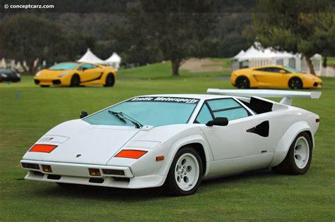 Lamborghini Lp500 Auction Results And Data For 1982 Lamborghini Countach Lp