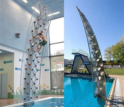 Outdoor Kitchen Design Software Aquaclimb Sport Poolside Climbing Wall The Green Head