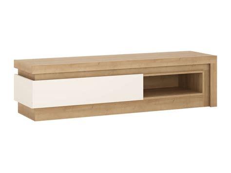 table salon conforama 130 meuble tv 130 cm lyon coloris ch 234 ne blanc vente de