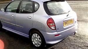 2005 Daihatsu Sirion Www Bennetscars Co Uk 2005 Daihatsu Sirion 1 3 Sl 65k Fsh