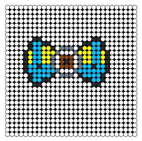 perler bead patterns minion minion bow perler bead pattern bead sprites misc fuse