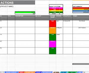 project crisis management dashboard amp log template