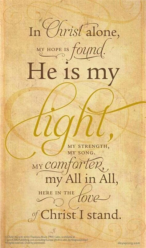 he is my comforter quotes about hope in jesus quotesgram