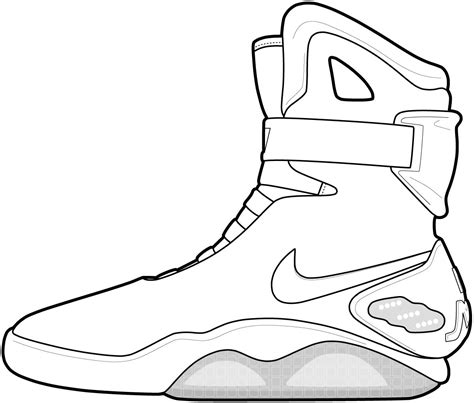 Coloring Pictures Of Basketball Shoes | basketball shoe coloring pages download and print for free