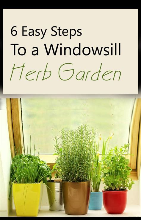 Window Sill Herbs Designs How To Make A Windowsill Herb Garden 6 Easy Steps