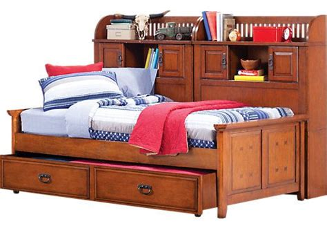 shop for a mission oak 5 pc bookcase daybed at rooms