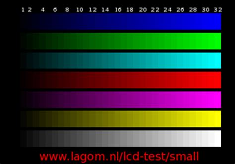 test pattern lcd mobile lcd test images