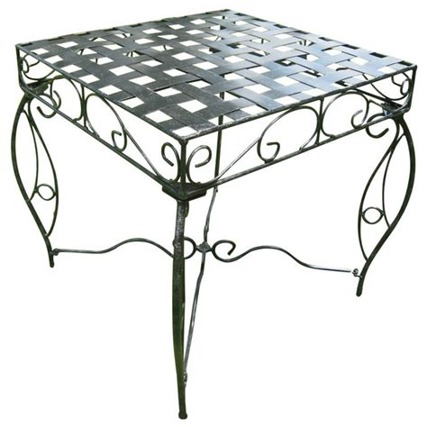 wrought iron side table outdoor wrought iron side table lattice in patio side tables