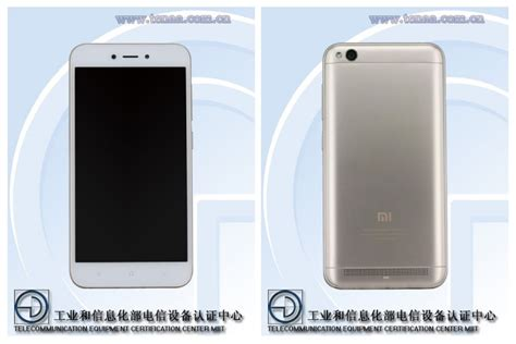 Xiaom Redmi 4a xiaomi redmi 5a seems to surfaced on tenaa as xiaomi