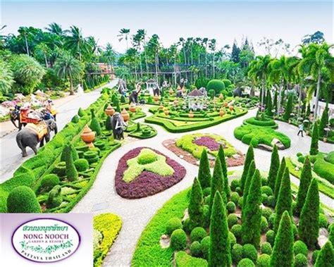 Nong Nooch Botanical Garden Pattaya Nong Nooch Tropical Garden Pattaya Thailand Pattaya