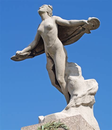 Angel Sculptures by File Bourget Statue Jpg Wikimedia Commons