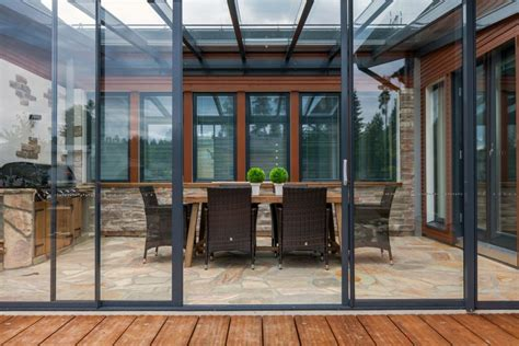 Glass Covered Patio by Covered Patio Benefits Lumon