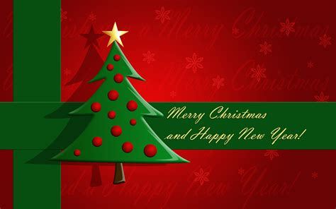 wallpaper christmas and new year merry christmas and happy new year wallpaper 730761