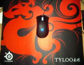 Mouse Pad Tyloo the steelseries thread v6