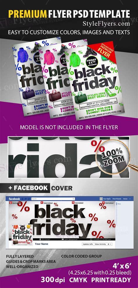 Black Friday Psd Flyer Template 12927 Styleflyers Black Flyer Template