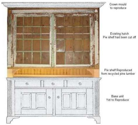 Kitchen Hutch Plans kitchen hutch plans free 187 plansdownload