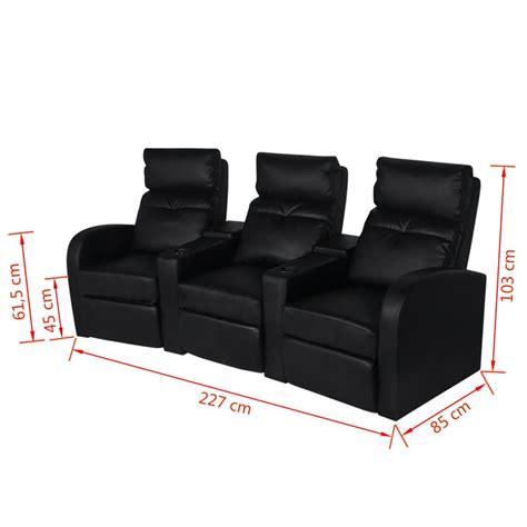 poltrona divano divano poltrona a tre posti reclinabile in pelle