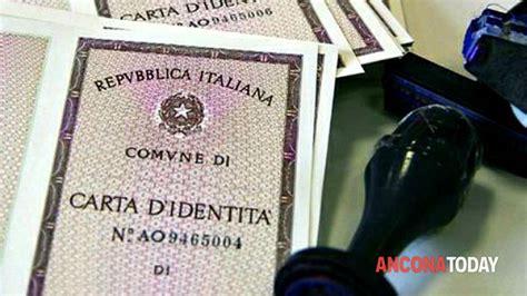 comune di fabriano ufficio anagrafe ancona rilascio carta di identit 224 anche cartacea per