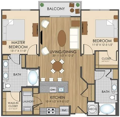 Apartment Block Floor Plans hidden creek apartment homes apartments in gaithersburg