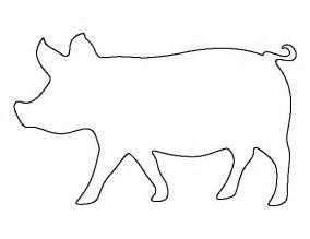 printable pig template
