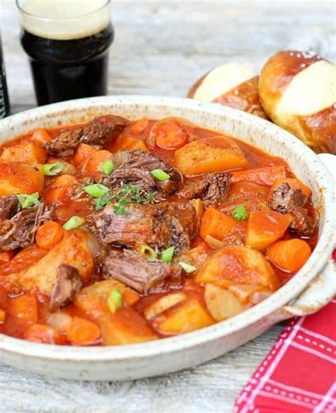 italian comfort food italian beef stew good dinner mom