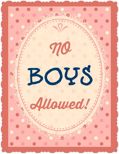 printable posters online no boys allowed printable poster allfreekidscrafts com