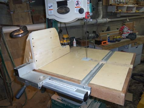 Band Saw Table For Cutting Circles Router Forums