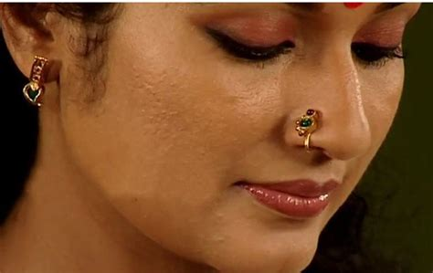Funky Drapes Nose Rings Of Different Regions