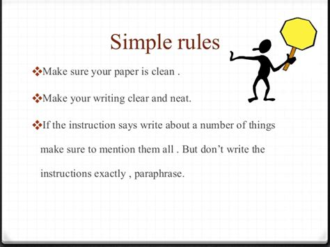 how to write paper neatly ielts writing tips