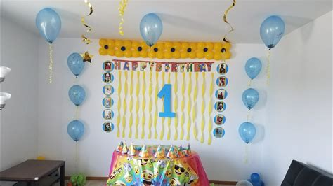 birthday decoration ideas  home diy balloons
