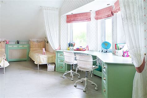 desks for girls bedrooms kid spaces 20 shared bedroom ideas