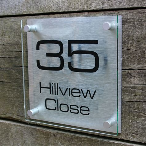 design your own house number plaque house signs numbers next co uk