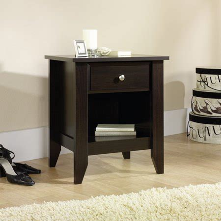 Sauder Shoal Creek Nightstand by Sauder Shoal Creek Nightstand Jamocha Walmart