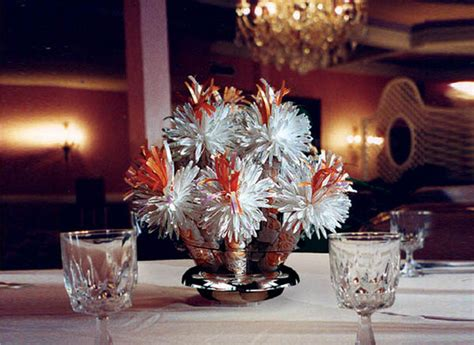 Banquet Table Decorations by Banquet Centerpieces Favors Ideas